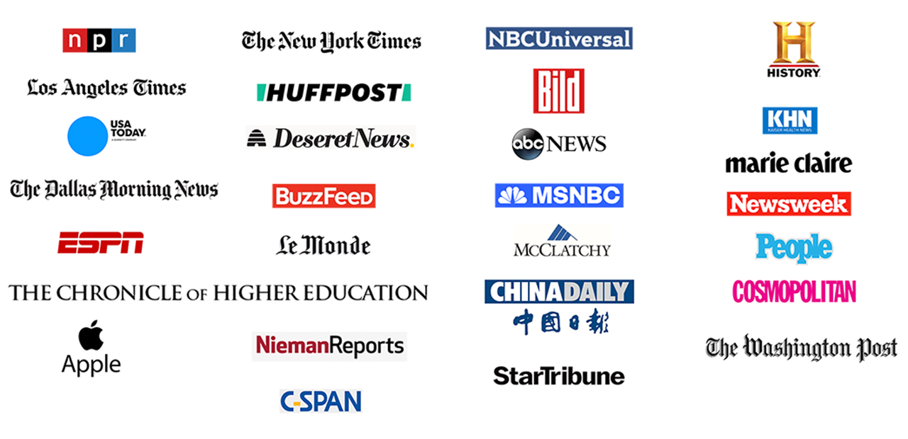 Names and Logos of companies where Cheryl Diaz Meyer has been published.