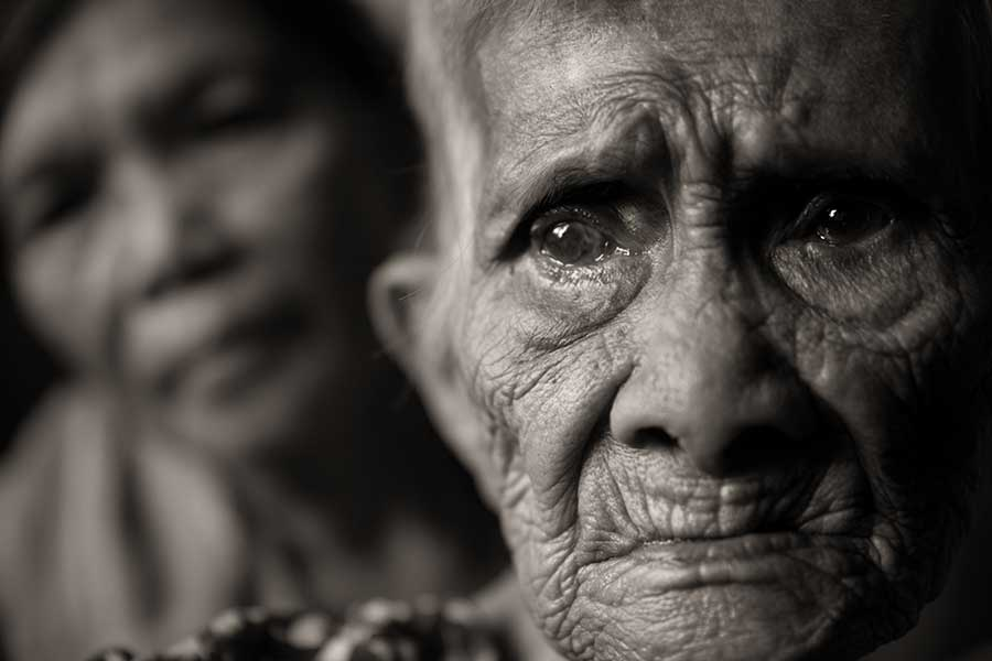 Former comfort woman Maria Quistadio Arroyo, 86, lived a tragic life starting with her abduction and sexual enslavement by the Japanese forces during World War II.